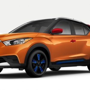 Nissan's Kicks Color Studio configuration tool.